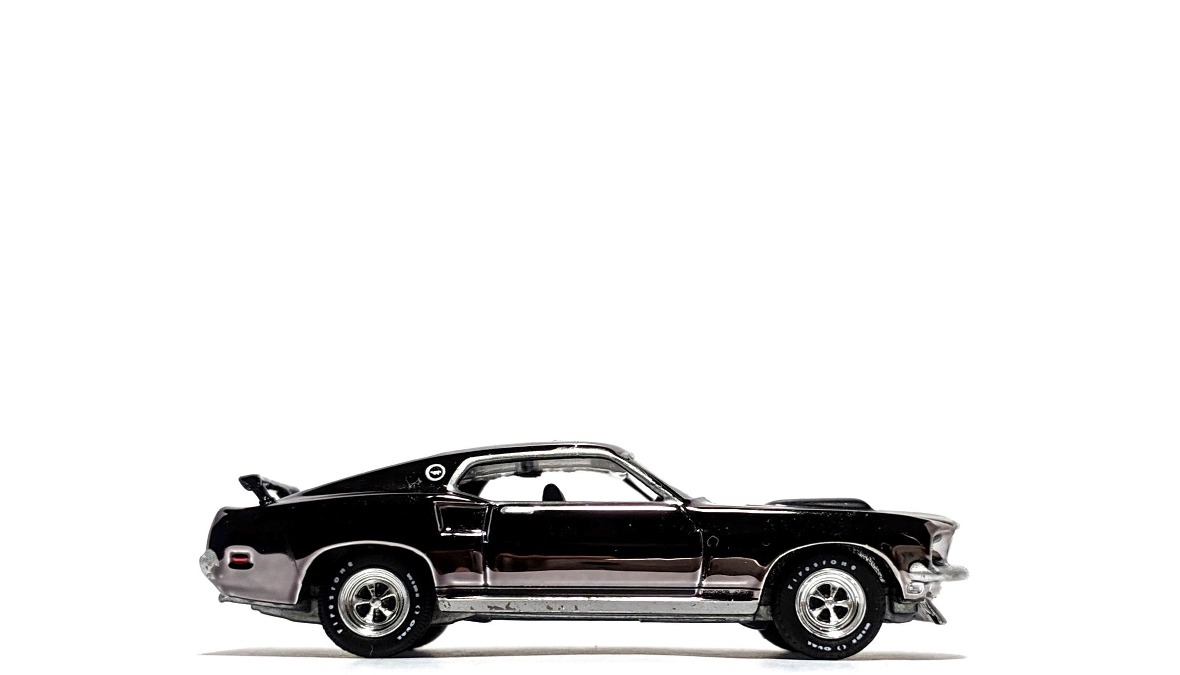 "1969 Ford Mustang Boss 429 Chrome Edition ""John Wick"" - Greenlight"