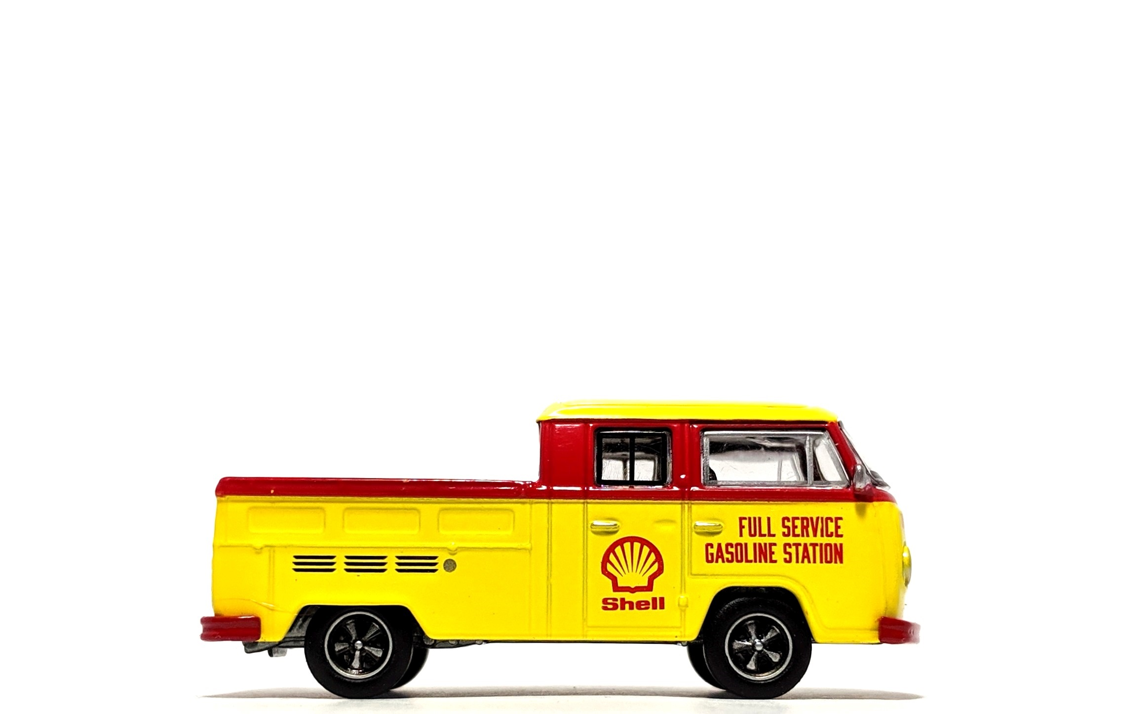 "1976 Volkswagen Type 2 T2 Double Cab Pick-Up ""Shell Oil"" - Greenlight"