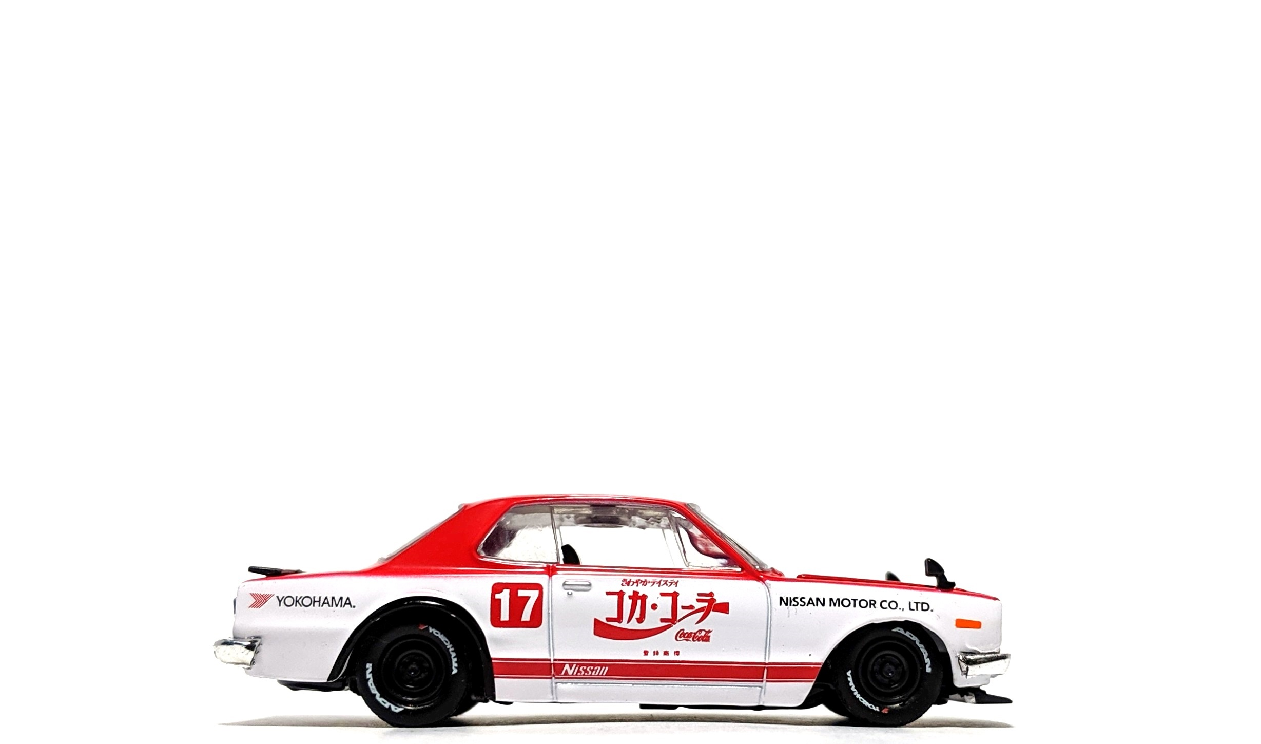 "1971 Nissan Skyline GT-R (C10) ""Coca-Cola"" - M2 Machines"
