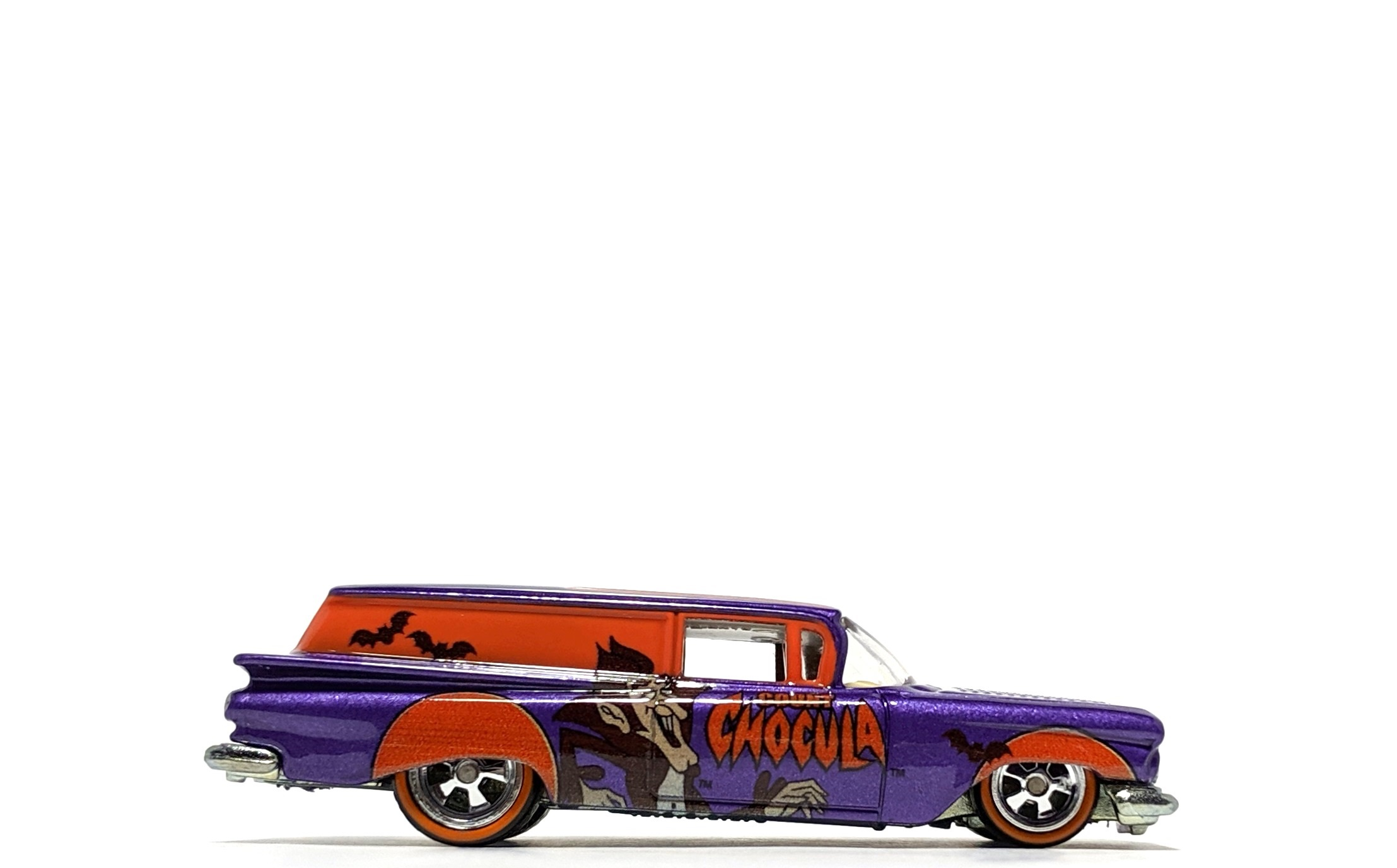"'59 Chevy Delivery ""Count Chocula"", by Hot Wheels (Pop Culture: General Mills)"