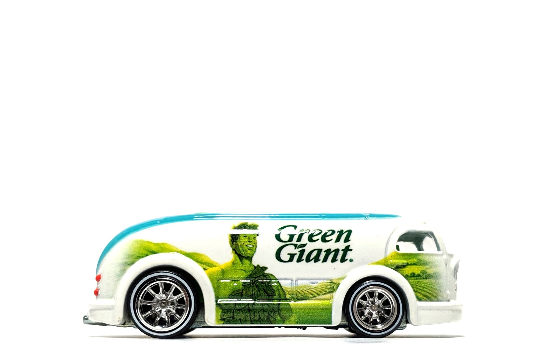 "Haulin' Gas ""Green Giant"", by Hot Wheels (Pop Culture: General Mills)"