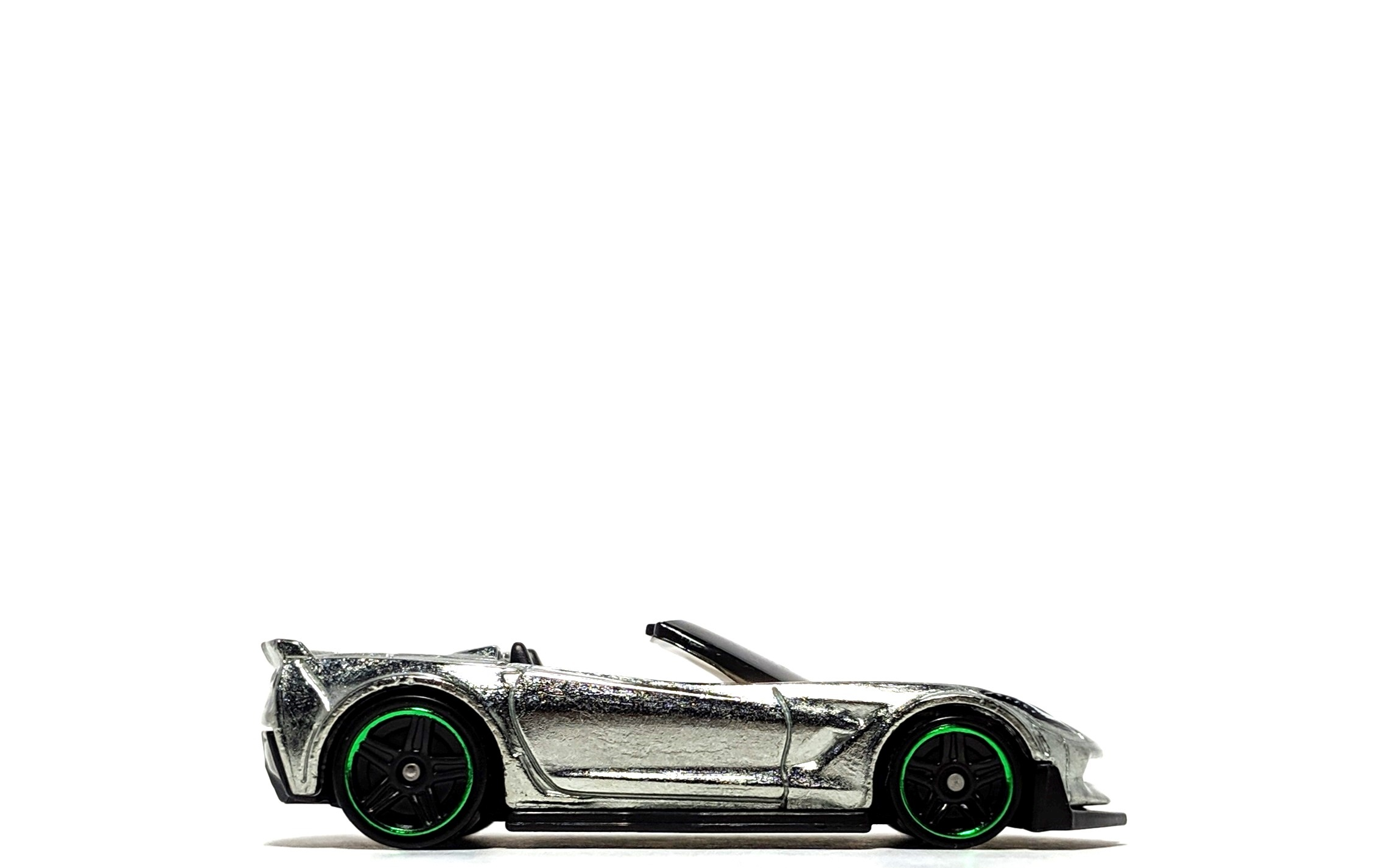 Corvette C7 Z06 Convertible (Zamac), by Hot Wheels (Walmart-exclusive)