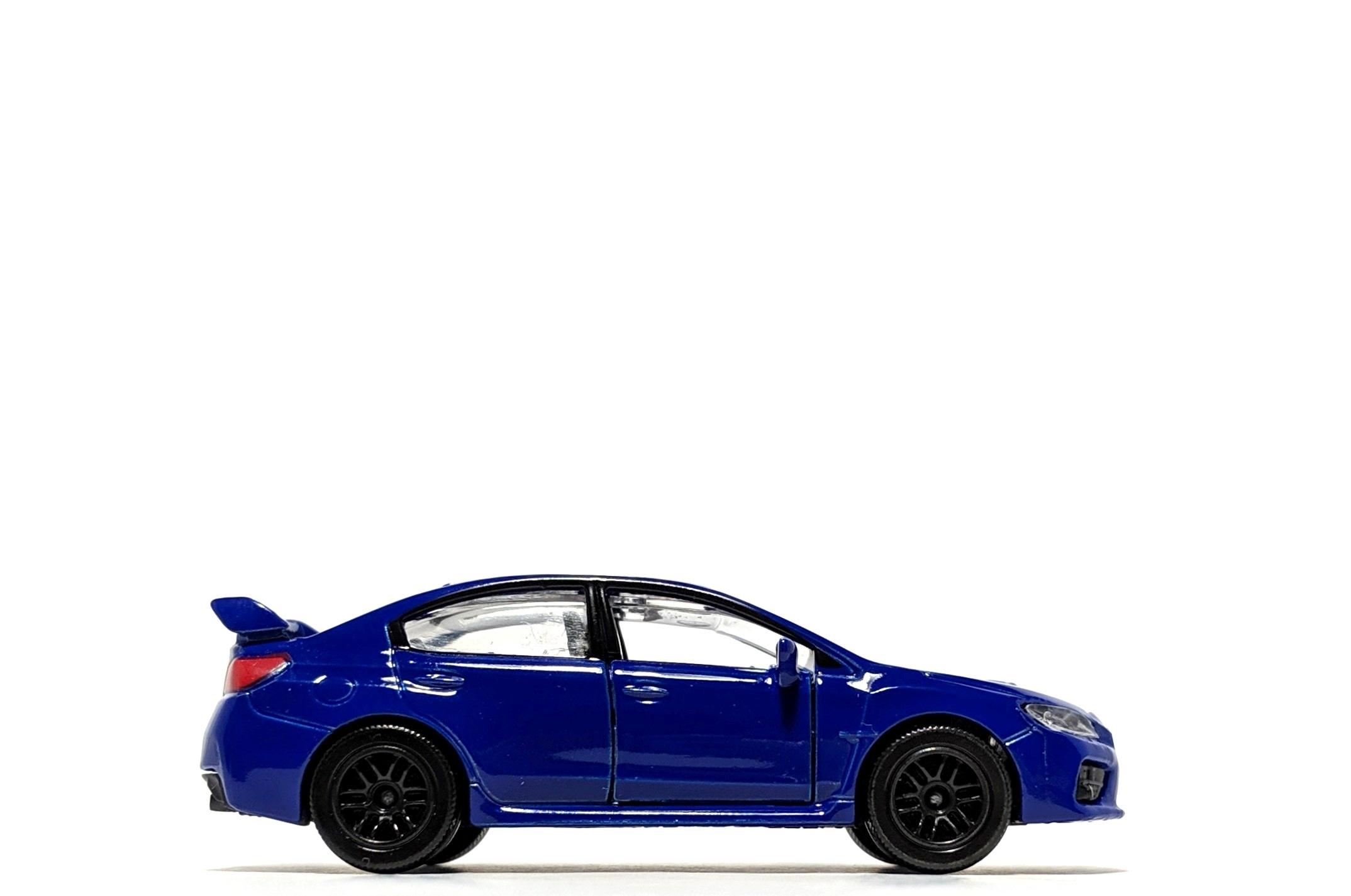Subaru WRX STi, by Majorette