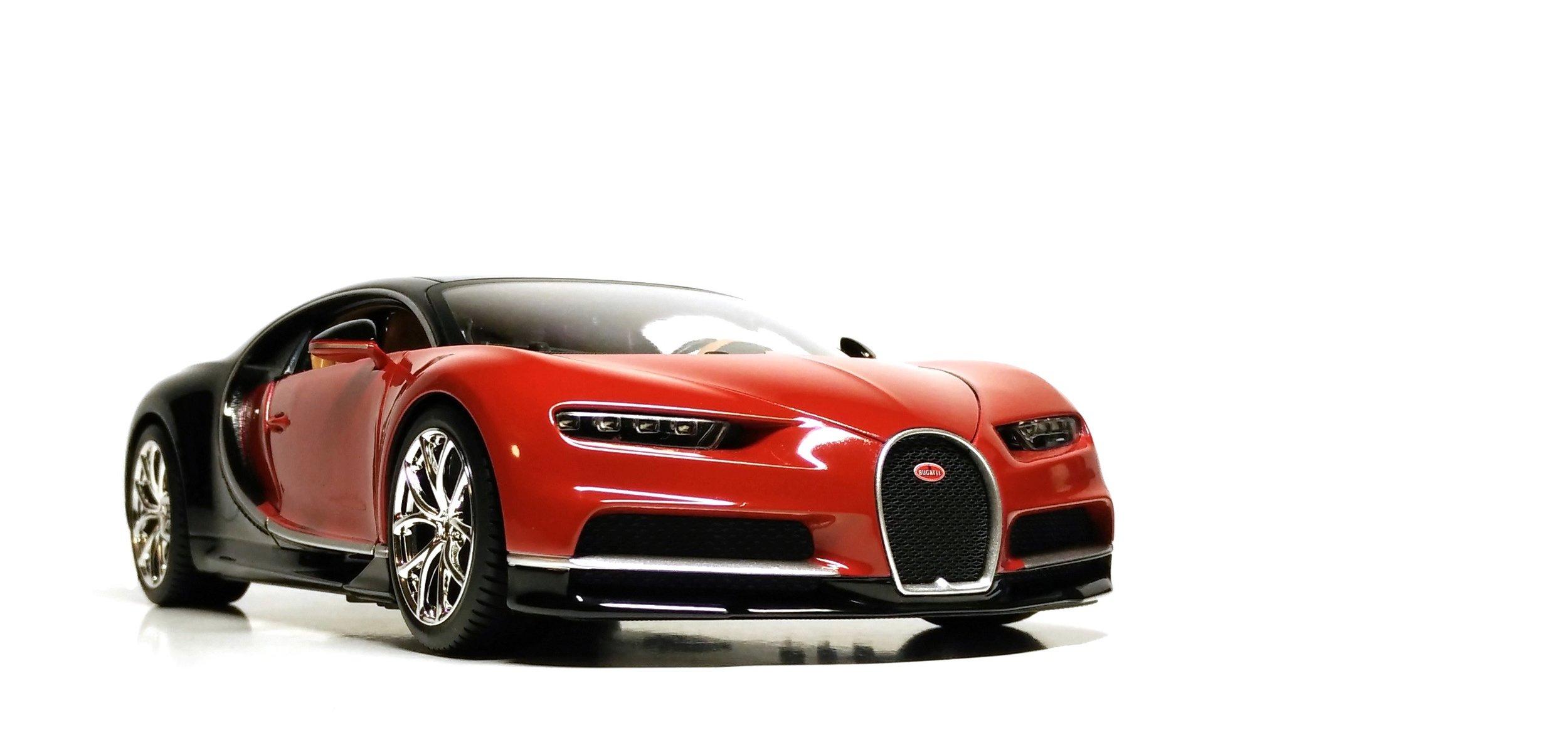 Bugatti Chiron, by Maisto