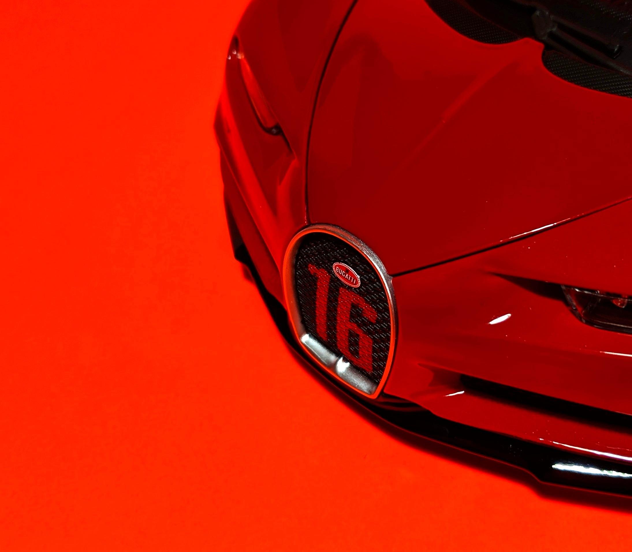 Bugatti Chiron Sport, by Maisto