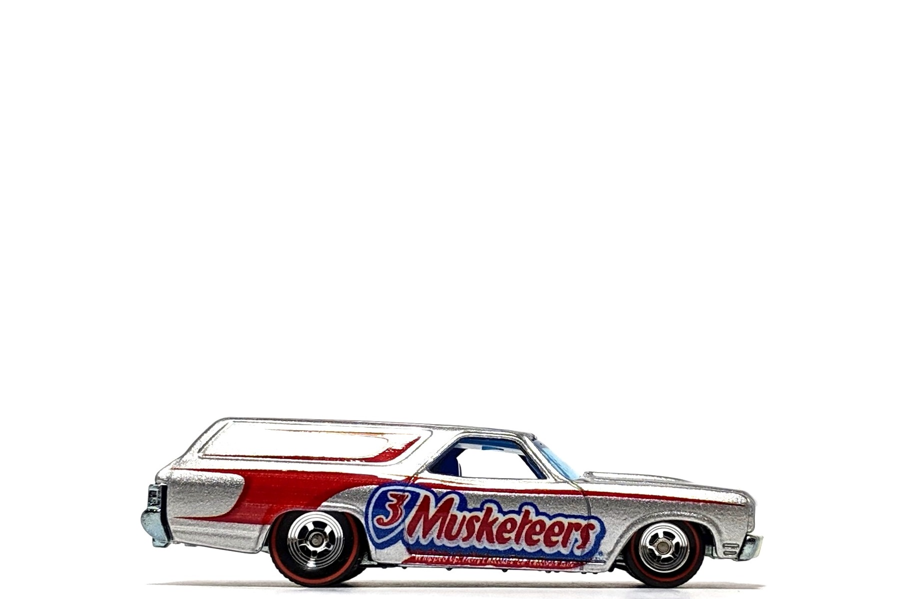 "'70 Chevelle Delivery ""3 Musketeers"", by Hot Wheels (Pop Culture: Mars)"