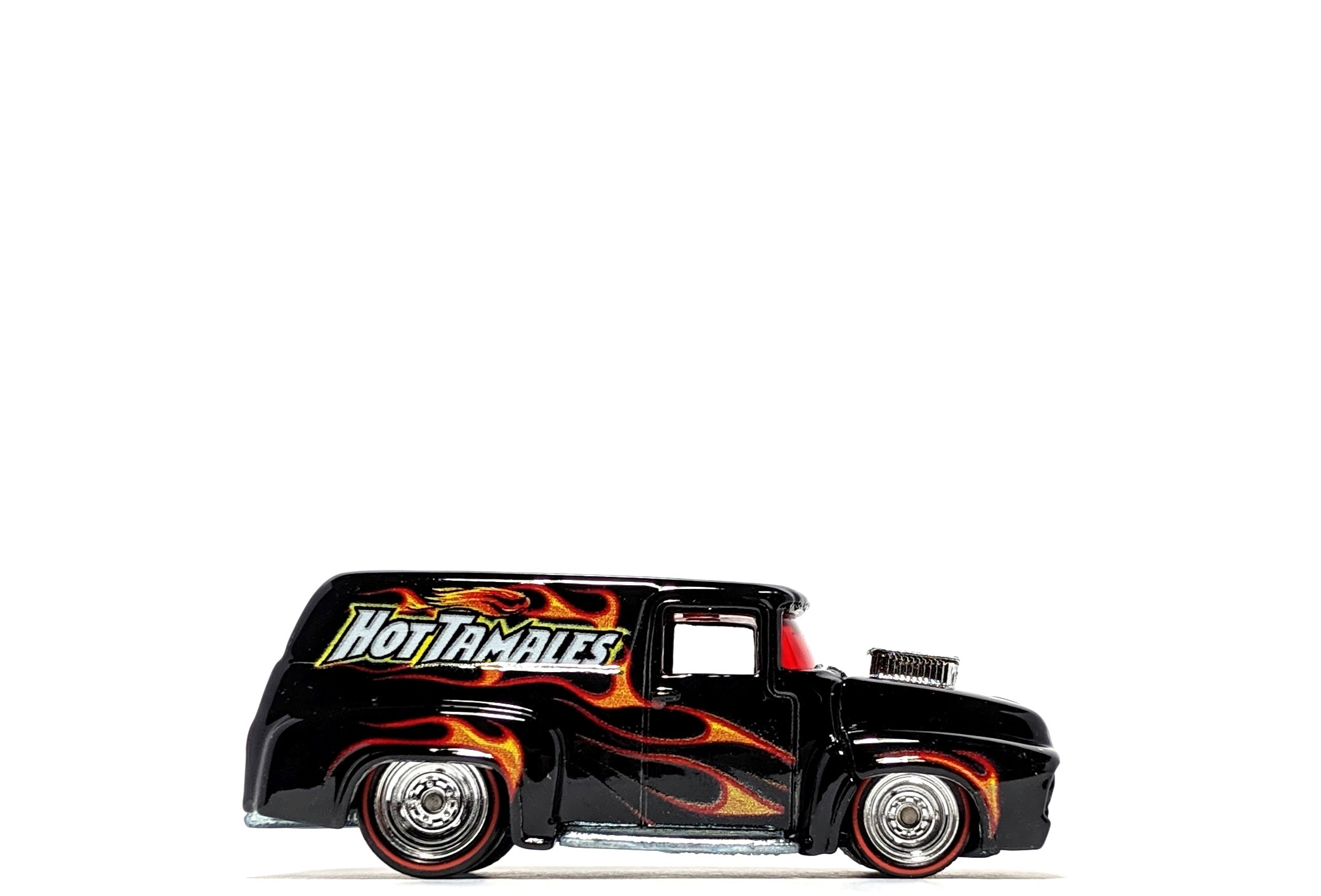 "'56 Ford F-100 Panel ""Hot Tamales"", by Hot Wheels (Pop Culture: Just Born)"