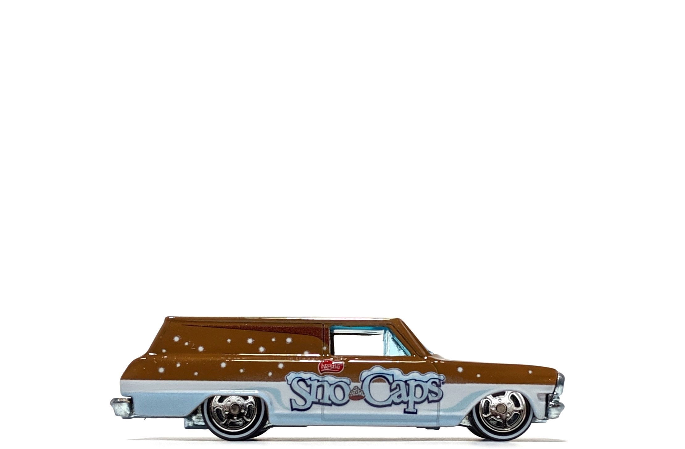"'64 Chevy Nova Delivery ""Sno-Caps"", by Hot Wheels (Pop Culture: Nestle)"