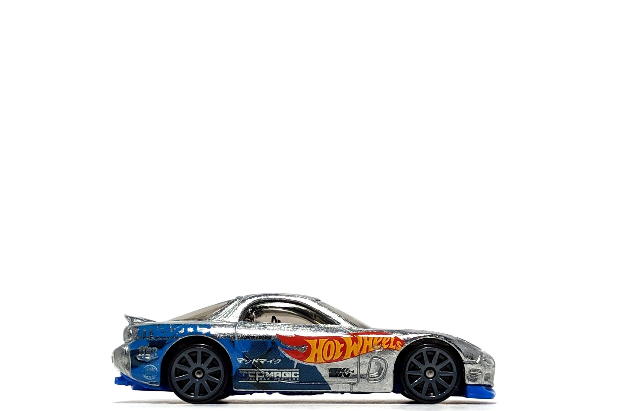 '95 Mazda RX-7 (Zamac), by Hot Wheels (Walmart-exclusive)