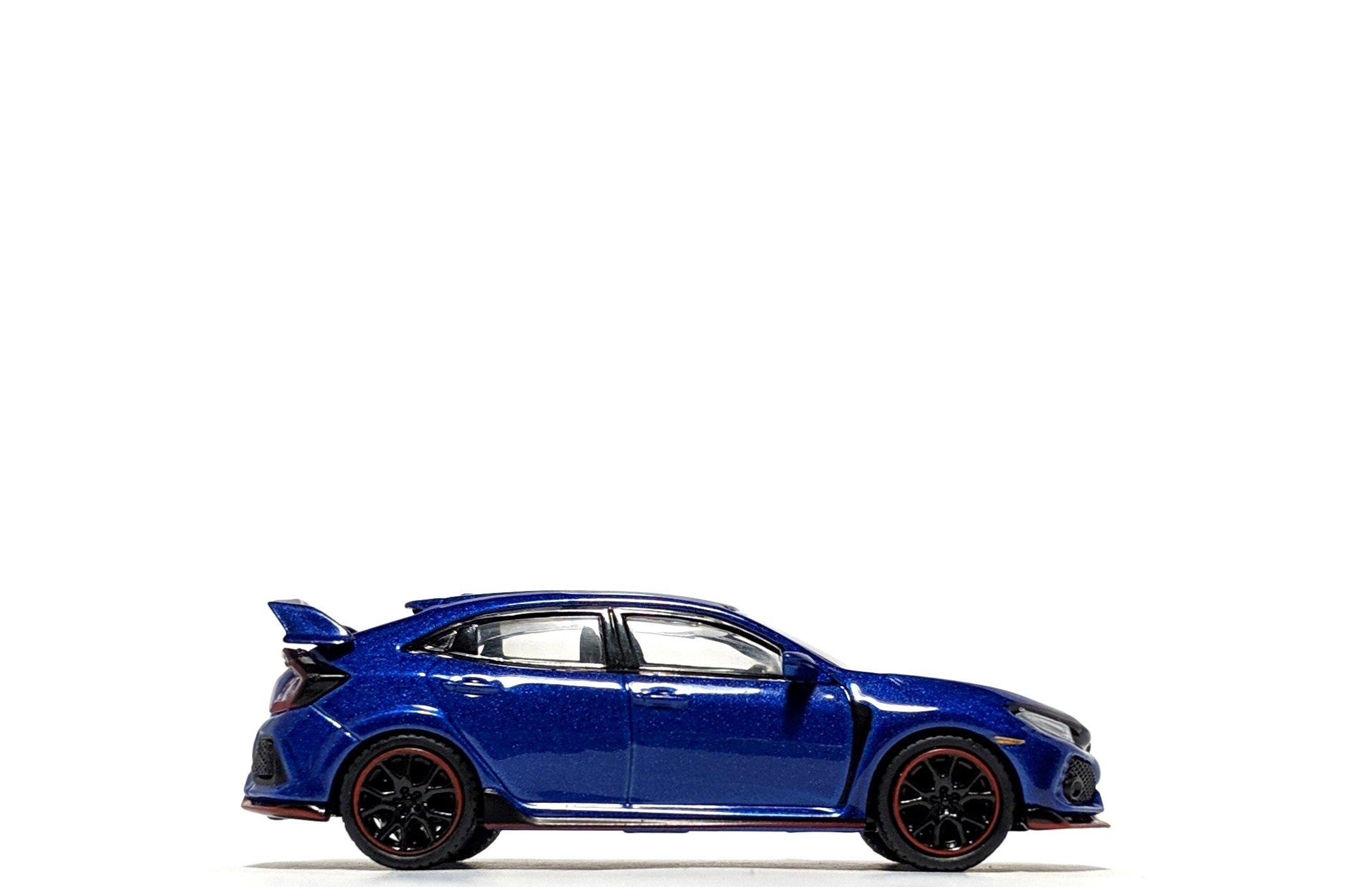 Honda Civic Type R in Aegean Blue, by Mini GT