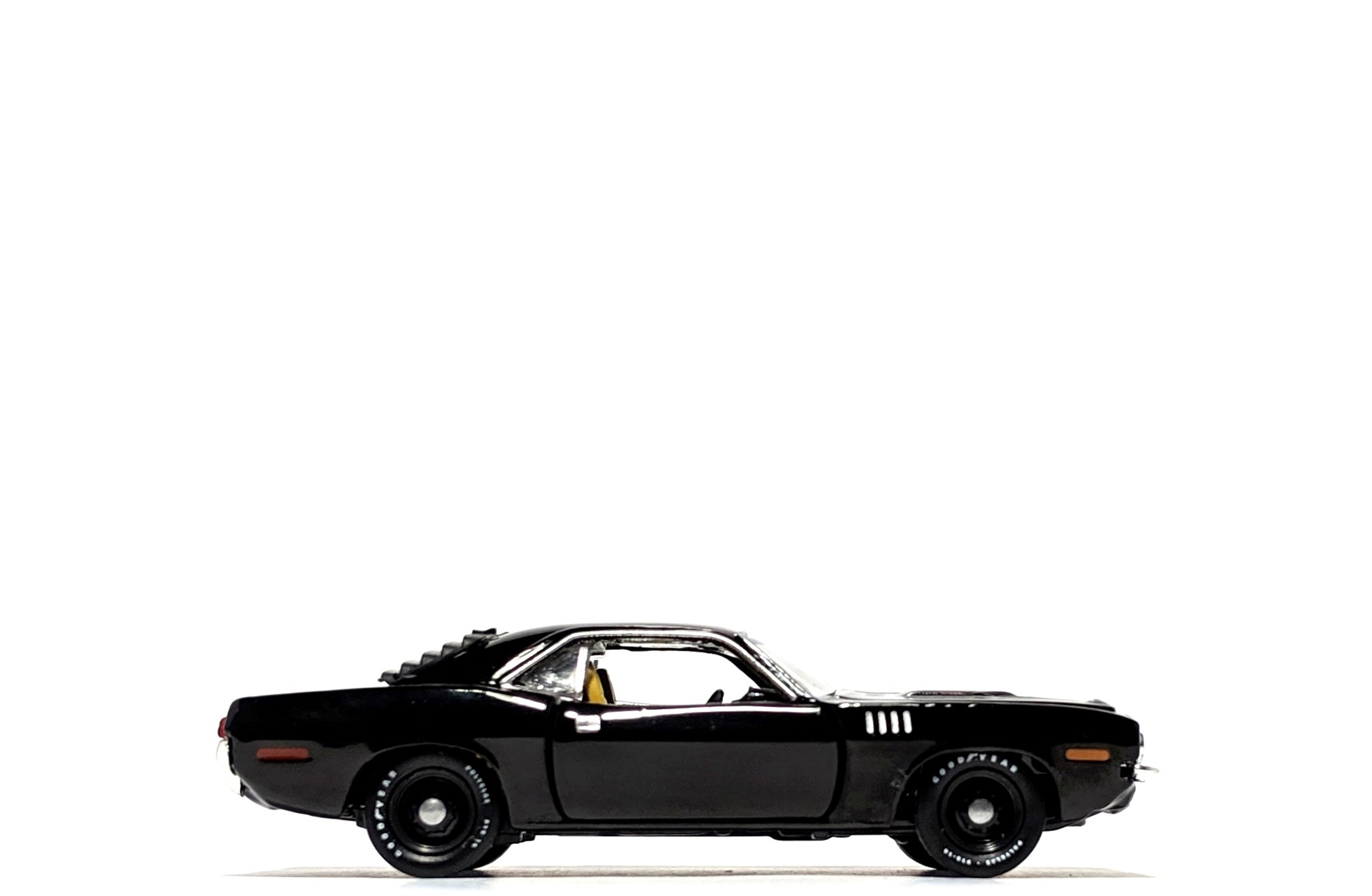 1971 Plymouth Cuda 440 6-Pack, by M2 Machines (Detroit Muscle - R46)