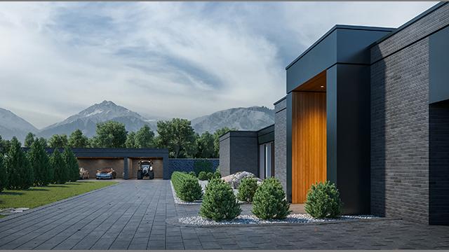 Screen villa