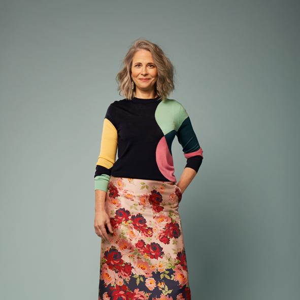 Anna Murphy, Fashion Director at The Times,  A Little Bird  October 2018