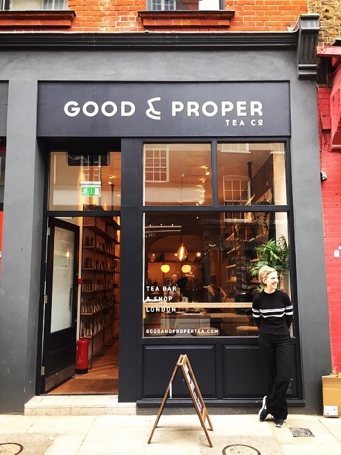 Interview with Emilie Holmes, founder of Good + Proper Tea,  The Iris Letter  April 2016