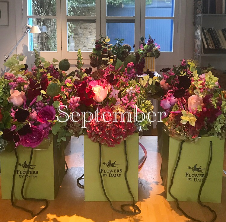 Goodbye to All That : thoughts on leaving London,  Flowers By Daisy  newsletter September 2017.