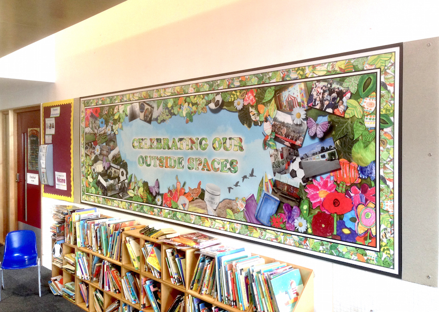 Outdoor Learning Display