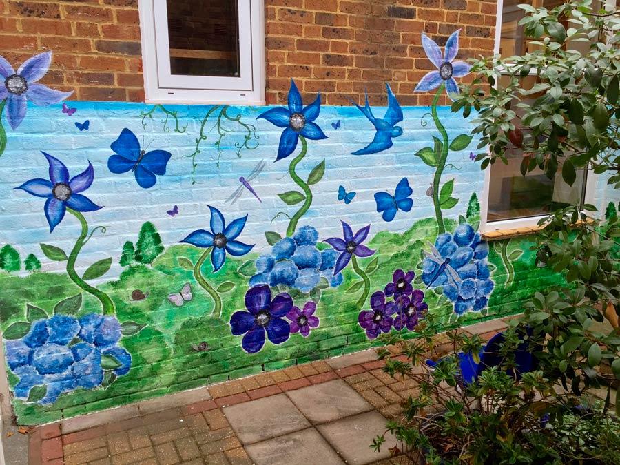 School Garden Mural