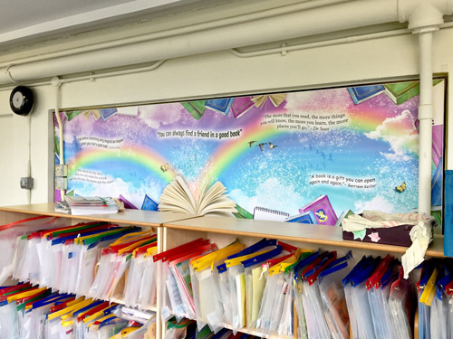 Book Quotes Display