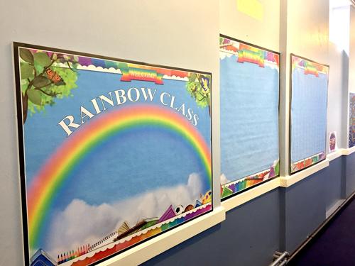 Rainbow Room Display