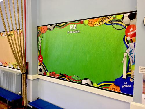 P.E School Display
