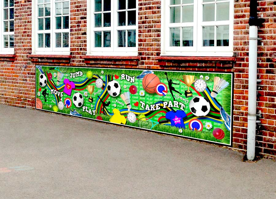 Sport Playground Artwork