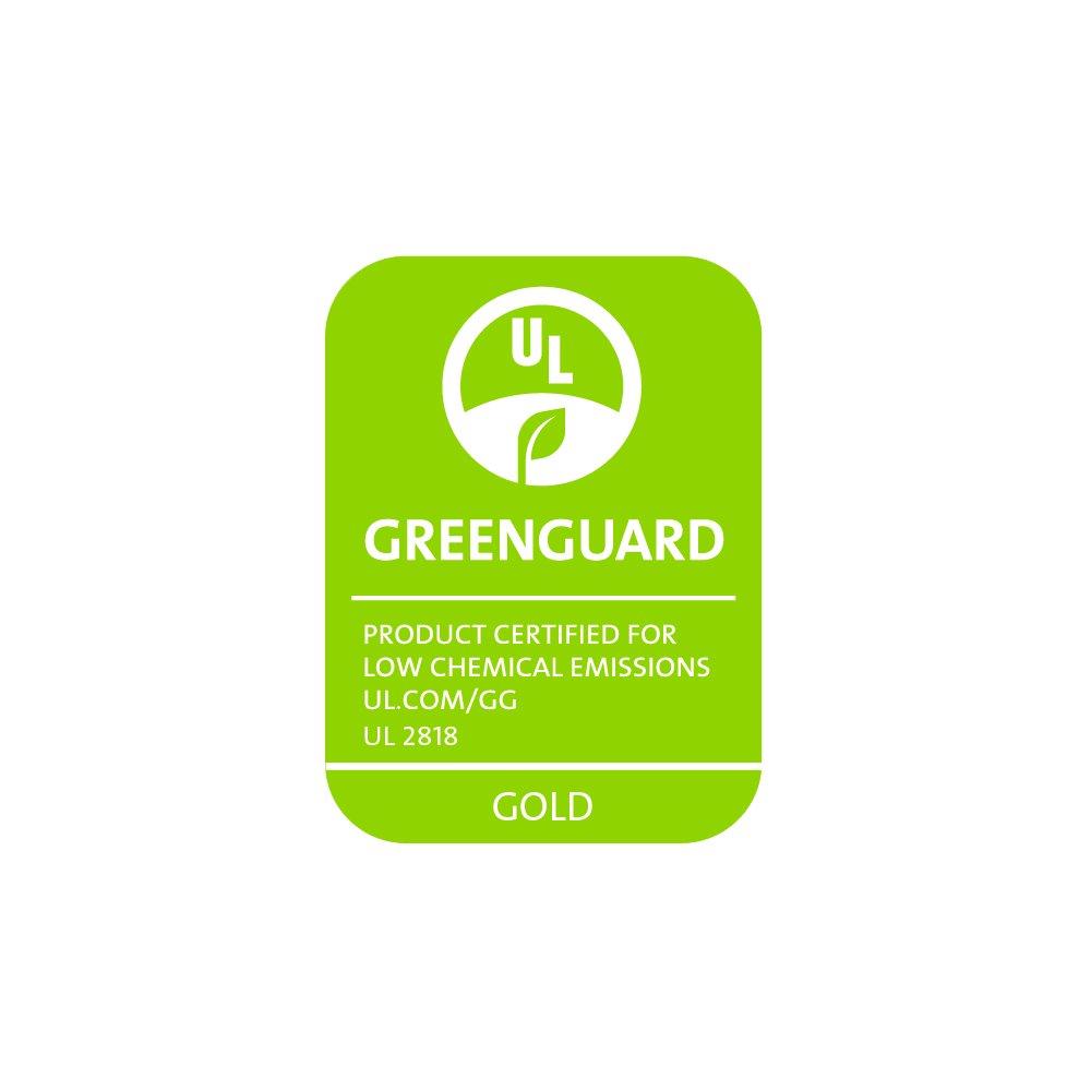 Greenguard and Greenguard Gold Certified -
