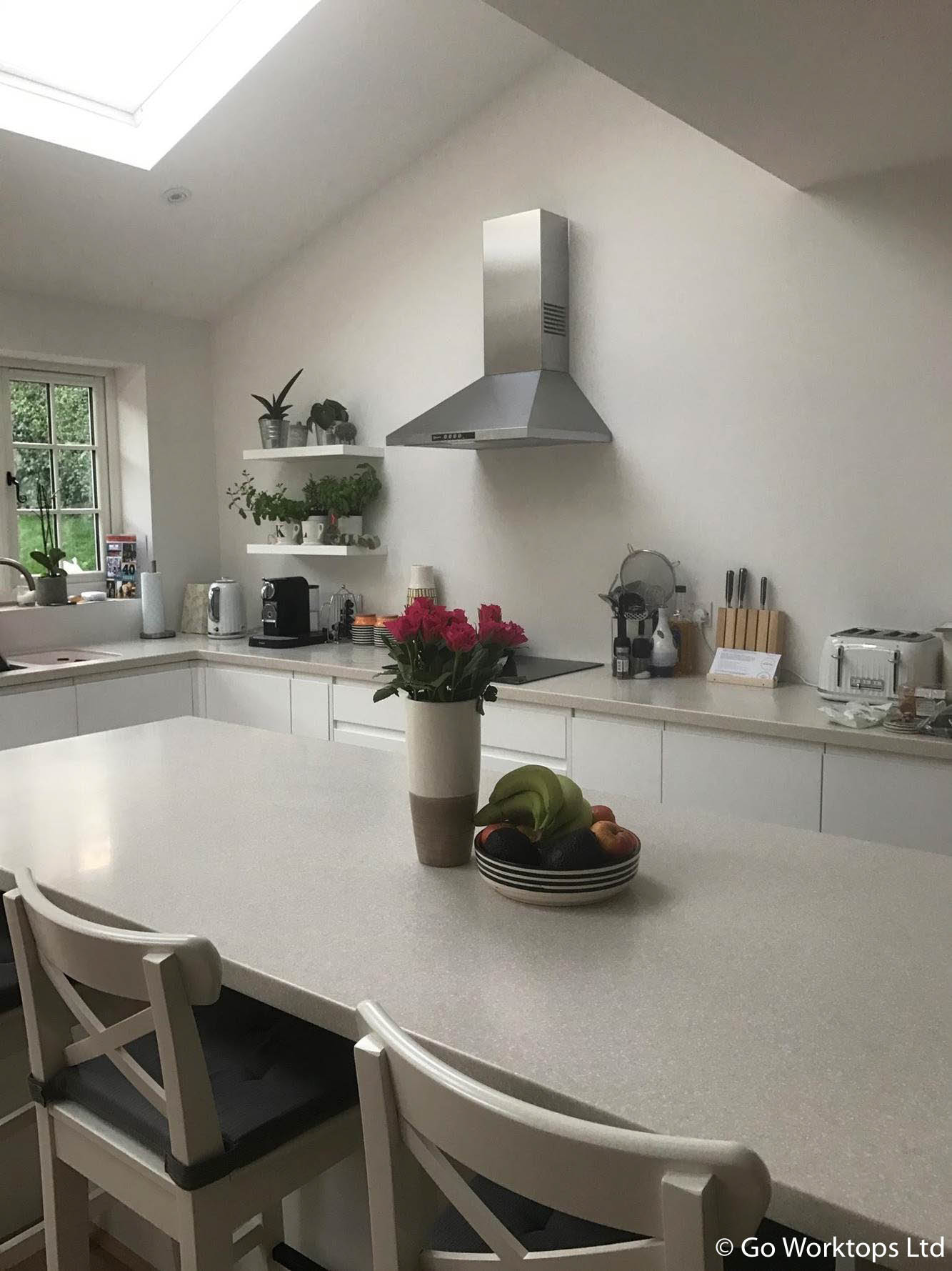 Fabricated by Go Worktops