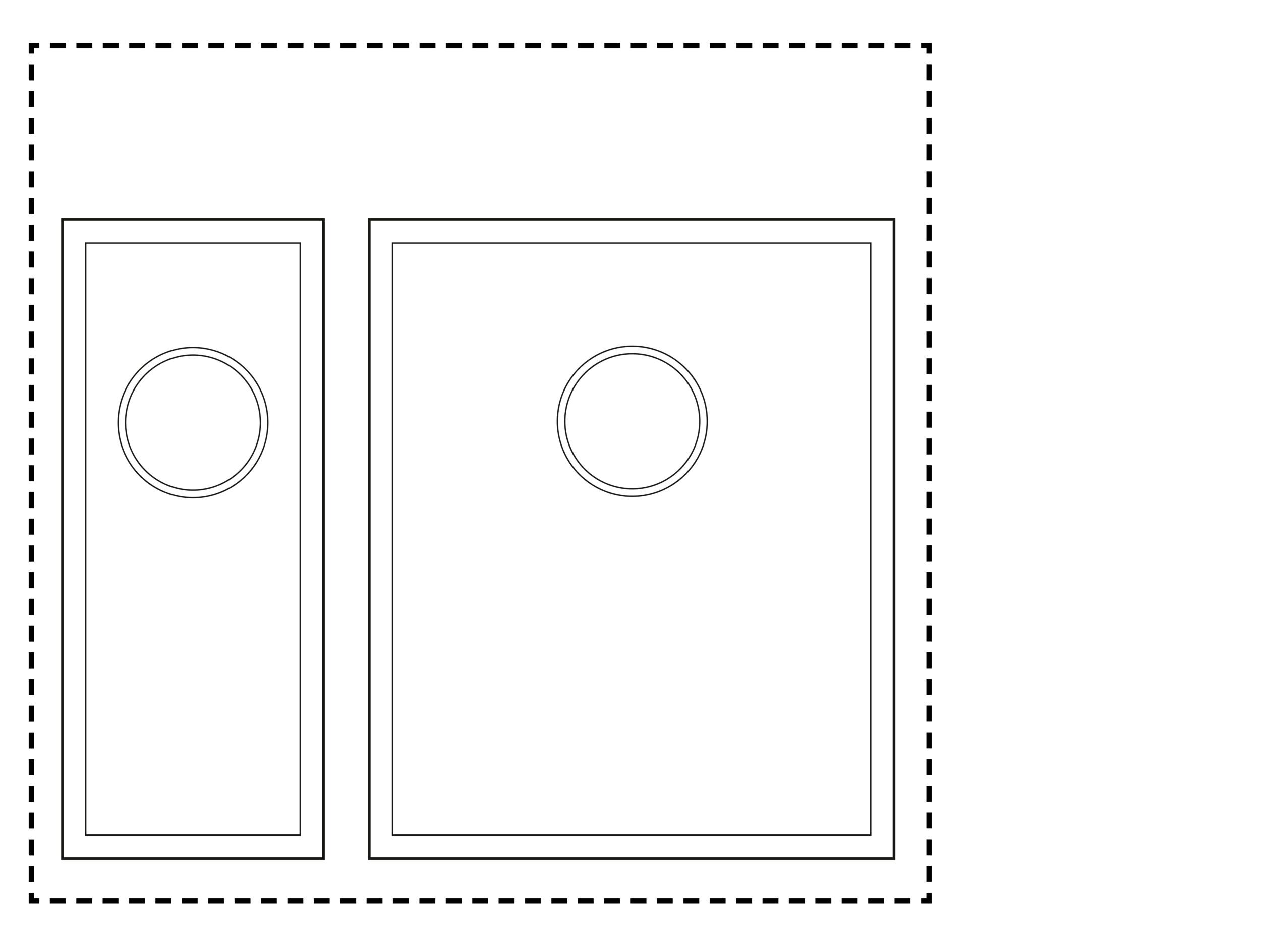 600mm Cabinet Sink Combination - 1.5 sink combinationHalf Sink: TS175Sink: TS350
