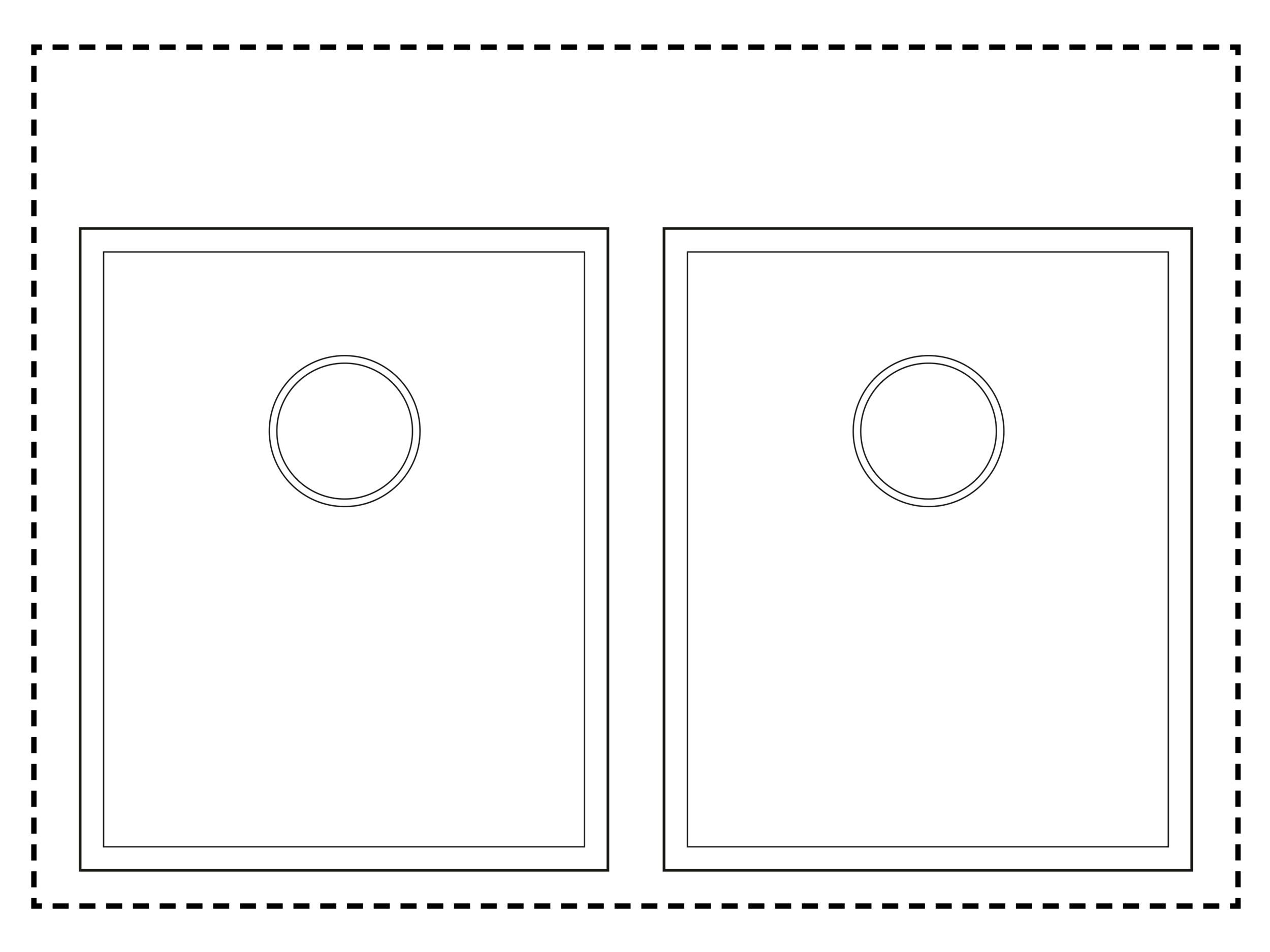 800mm Cabinet Sink Combination - Twin sink combinationSink (L/R): TS350