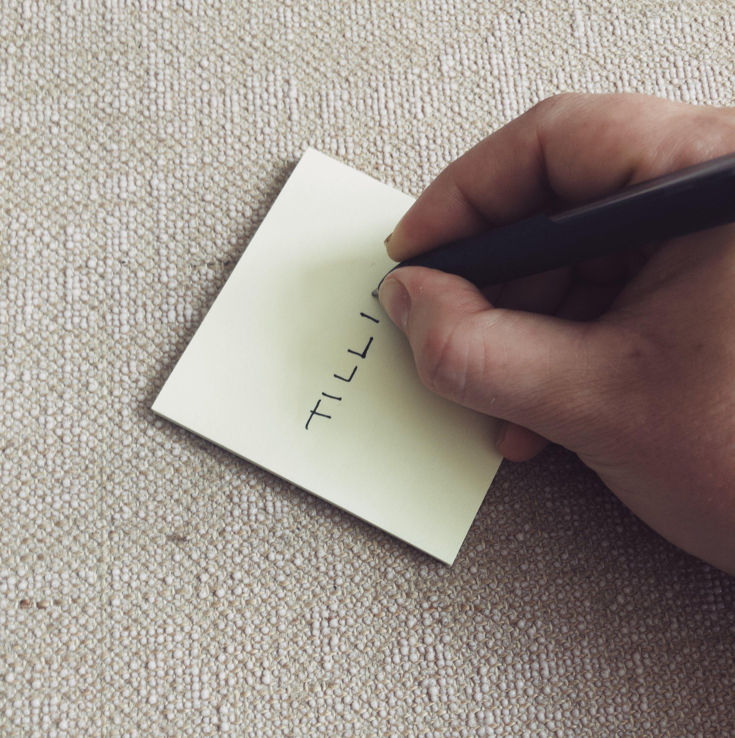 7. Tilføj nye værdier - Mærk efter om der er værdier/væremåder, som du vil tilføje din liste, fordi de vil støtte dig i at skabe balance og glæde i hverdagen - og skriv dem ned.