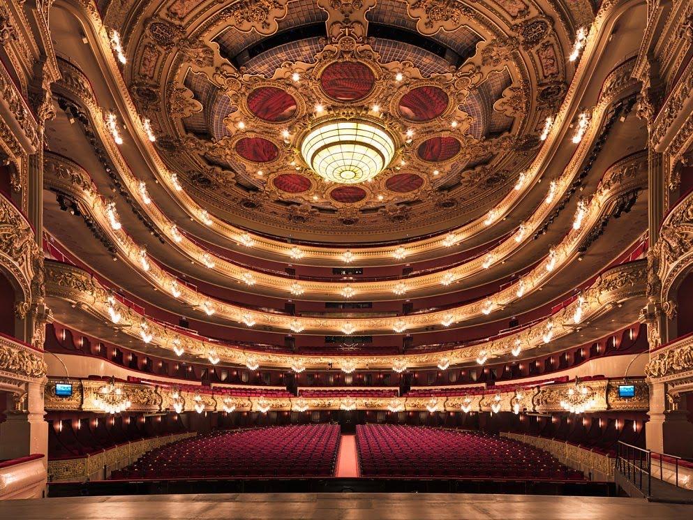 Gran teatre del liceu - Barcelona, Spain.