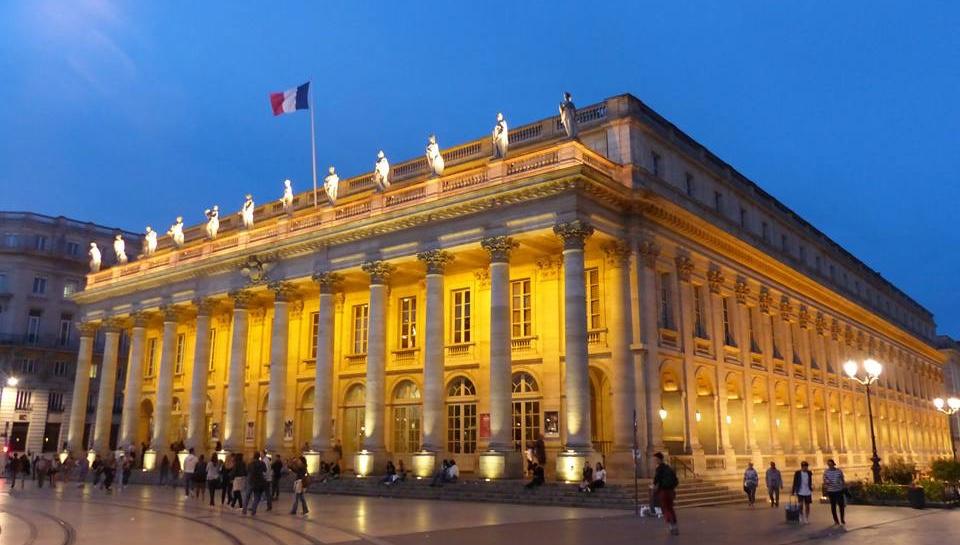 Le Grand Théâtre de Bordeaux - Bordeaux, France.