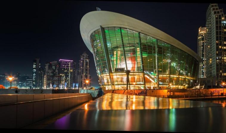 Dubai Opera - Dubai, United Arab Emirates.