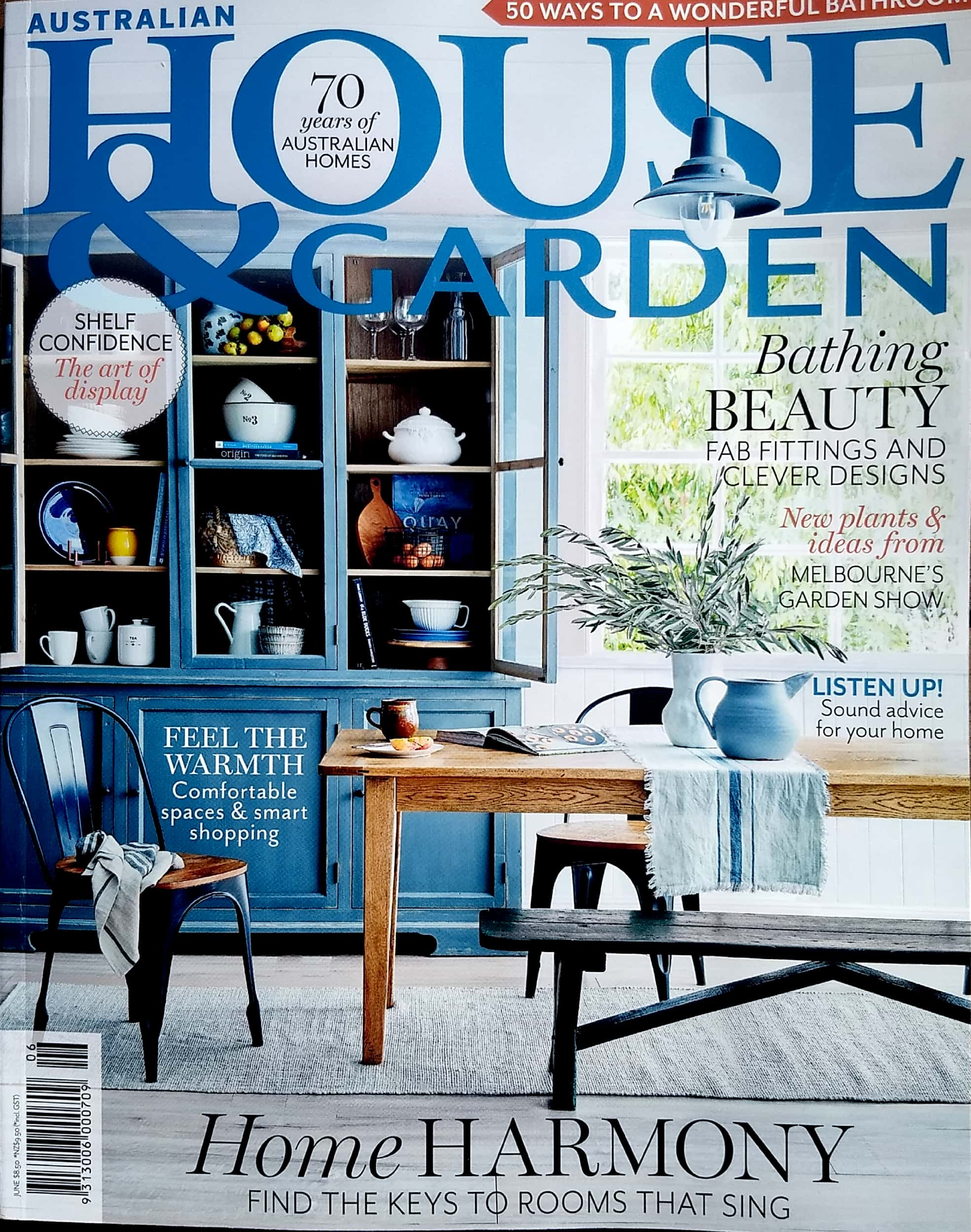 Article in House & Garden Magazine