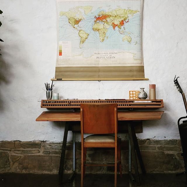 I thought if I made a nice drawing desk I would draw more..... maybe a little