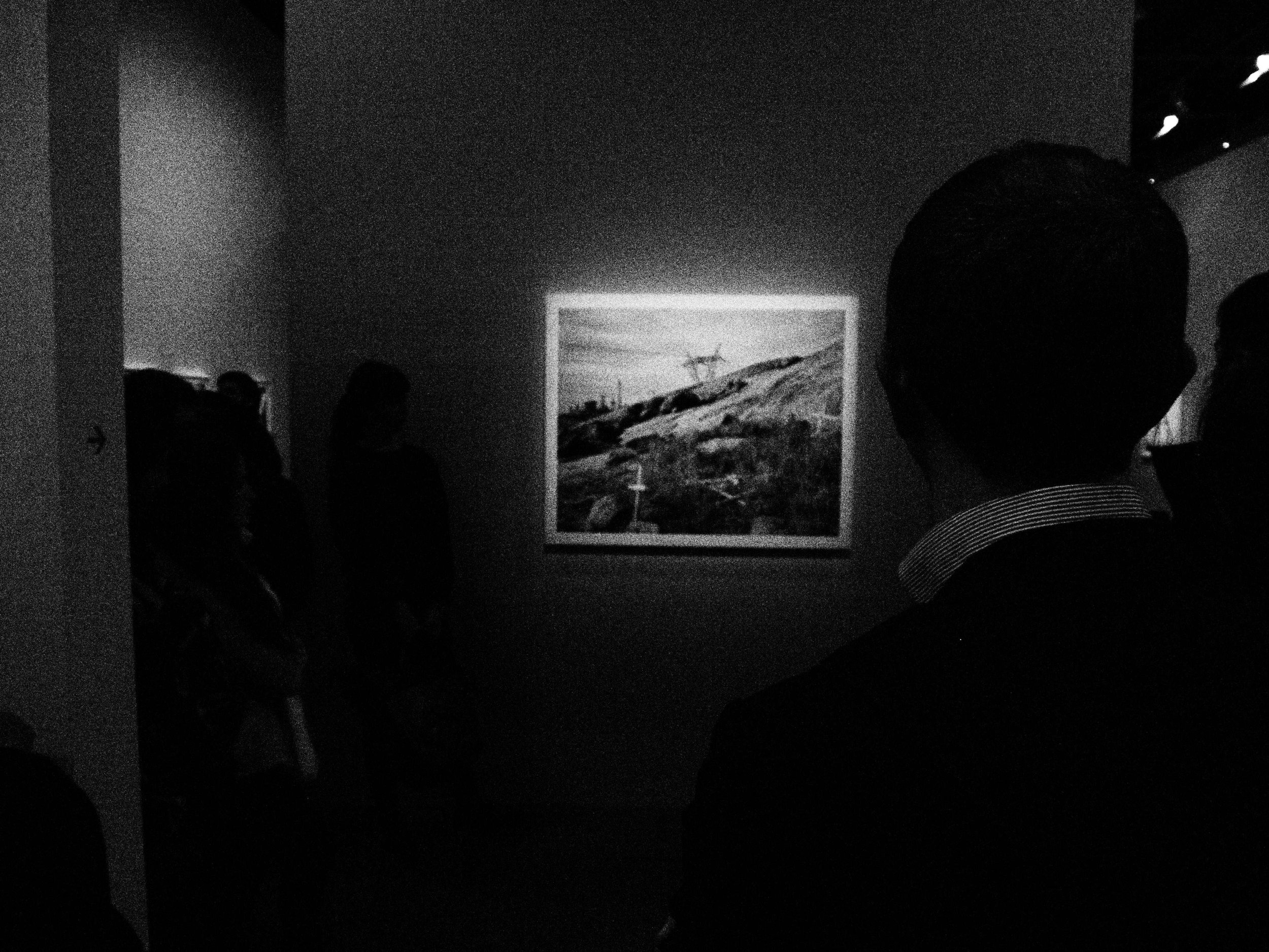 David Goldblatt photograph of Marikana memorial site.