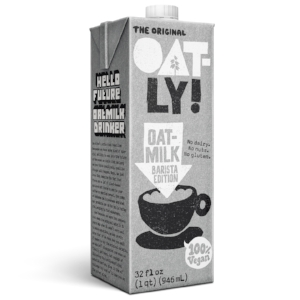 OATLY HOUR - Get any coffee made with Oatly, and its free. July 14th, 10am-12pm only.