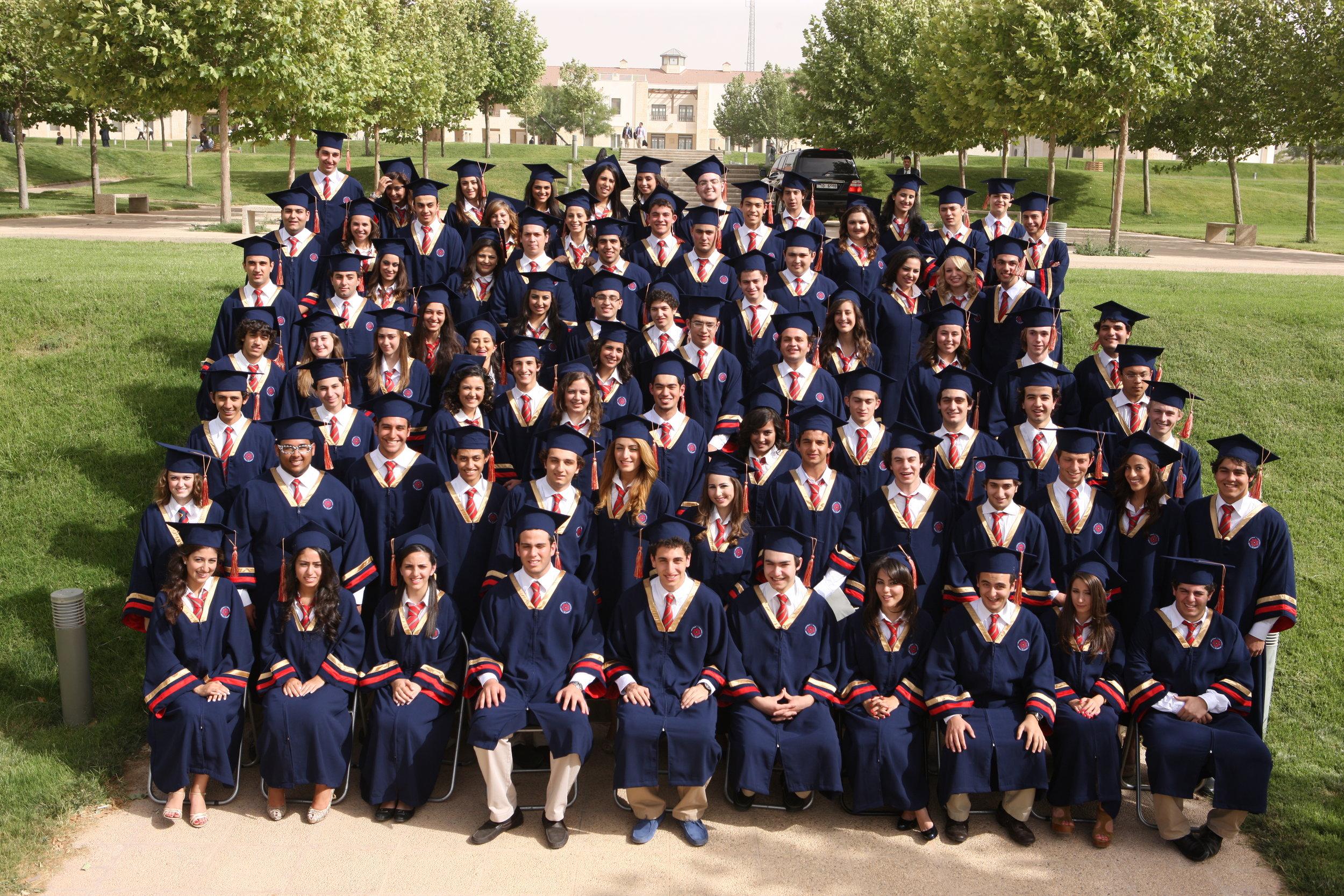 King's Academy's First Graduating Class