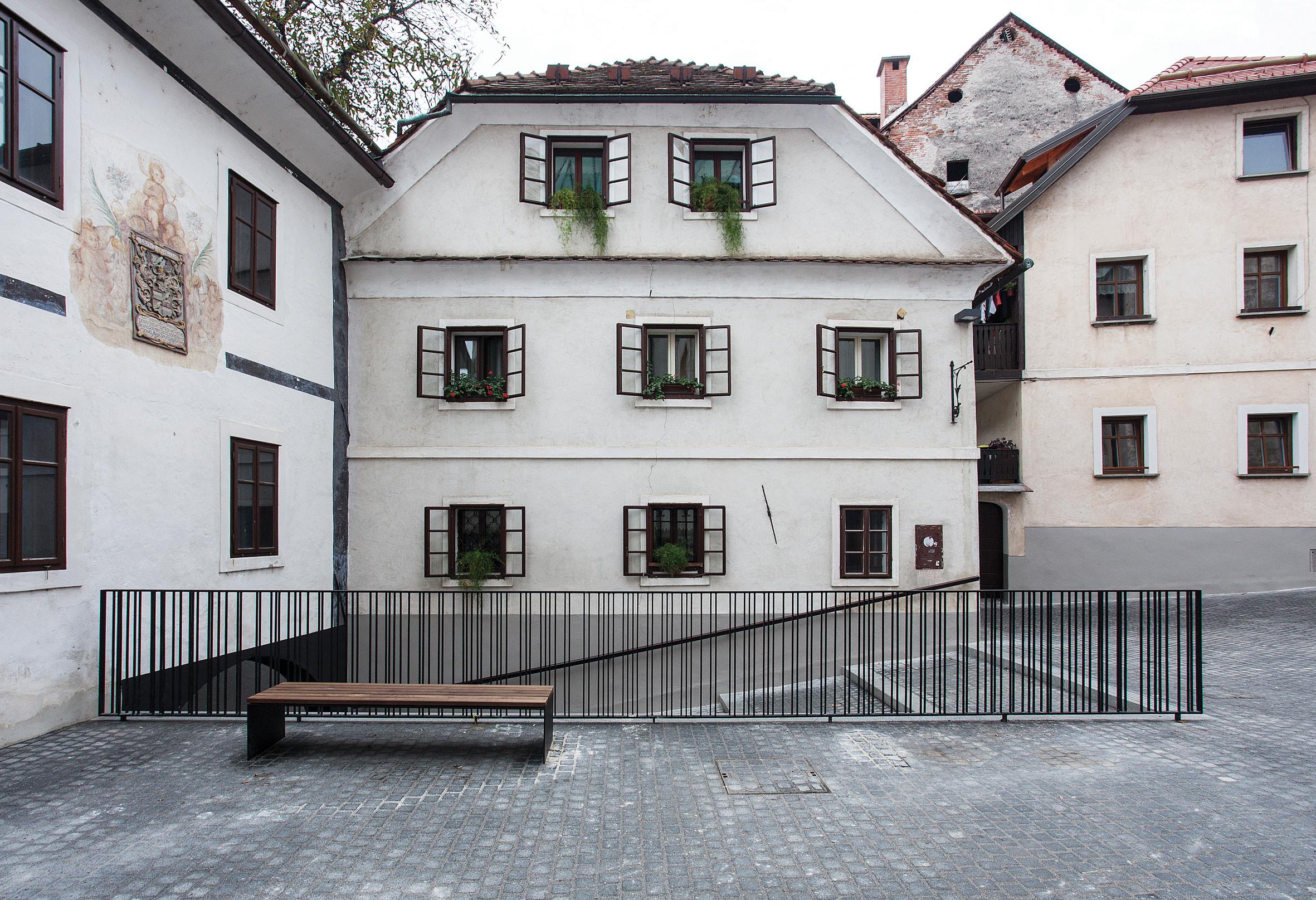 RENOVATION OF CANKAR SQUARE AND BLAŽEVA STREET IN ŠKOFJA LOKA  September 2014