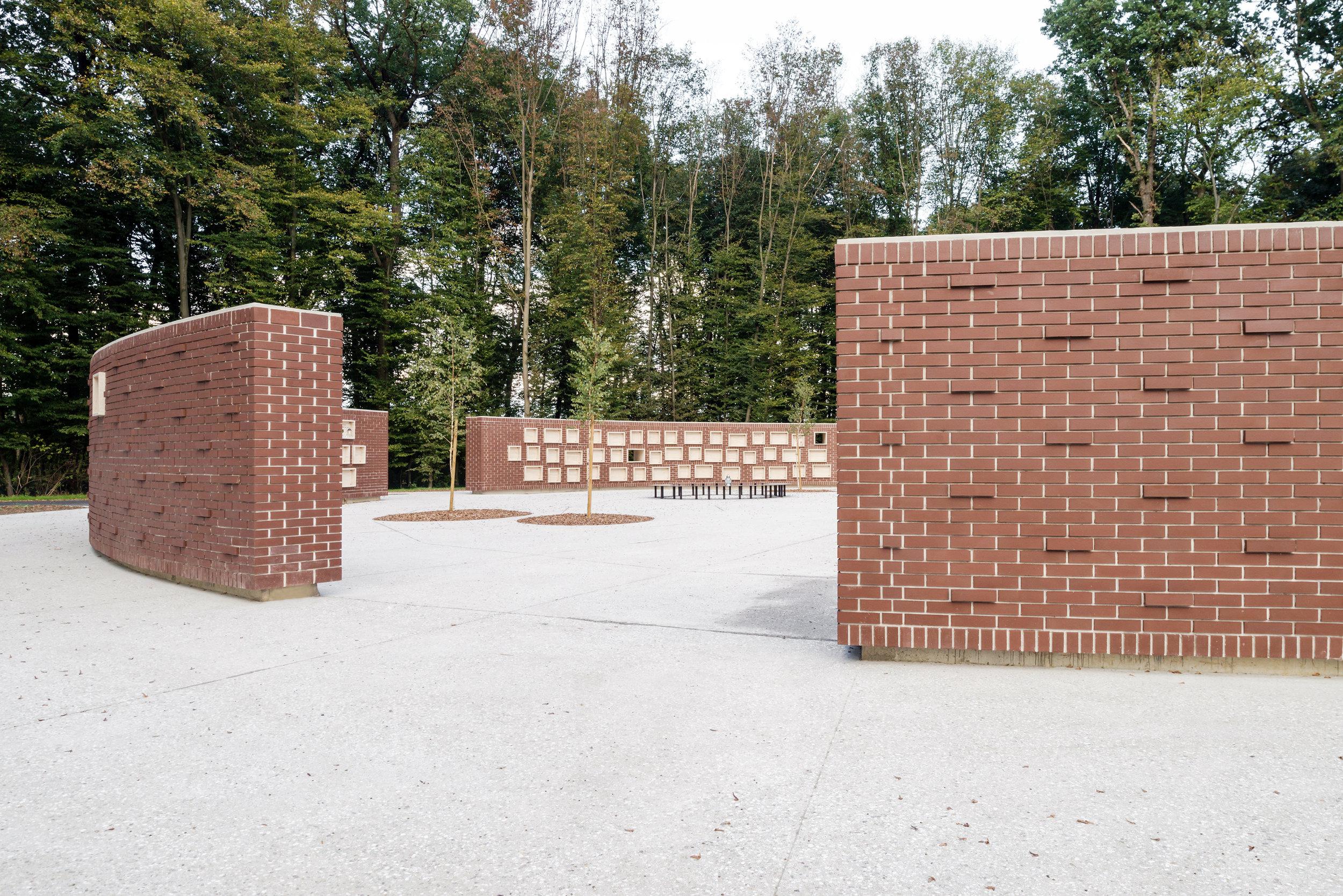 URN WALL   AT ROGOZNICA CEMETERY IN PTUJ  September 2018