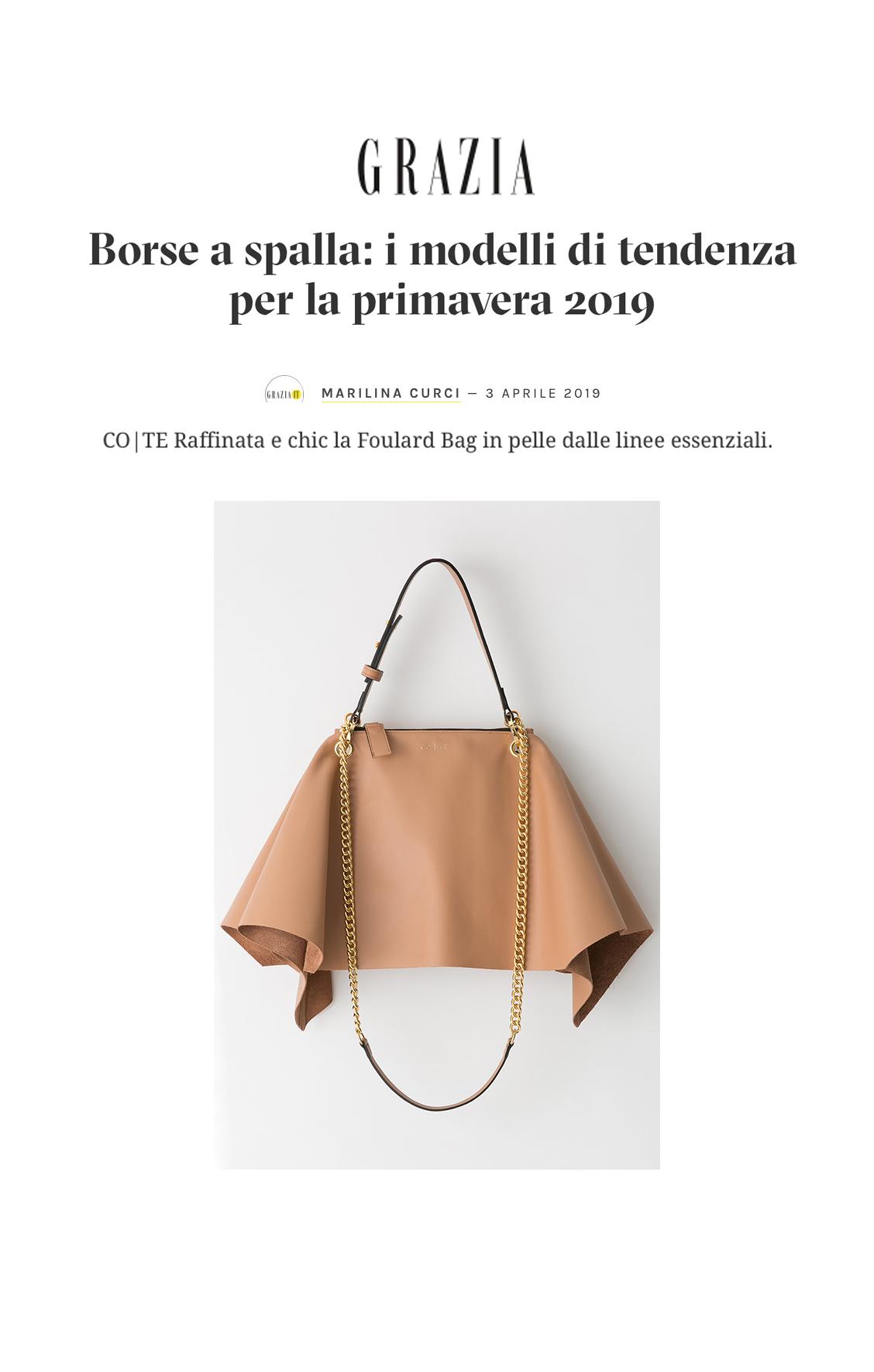 Foulard Bag Grazia