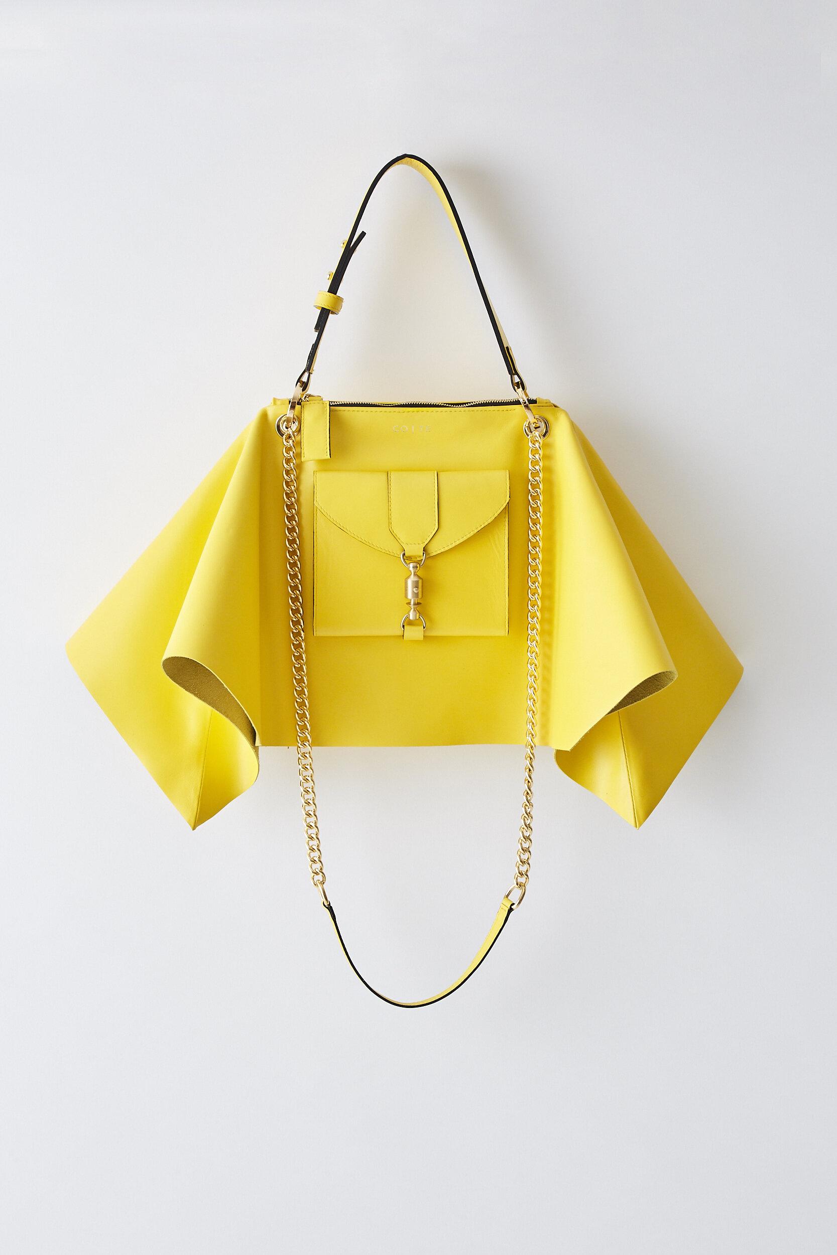 COTE SS2020 Foulard Bag yellow