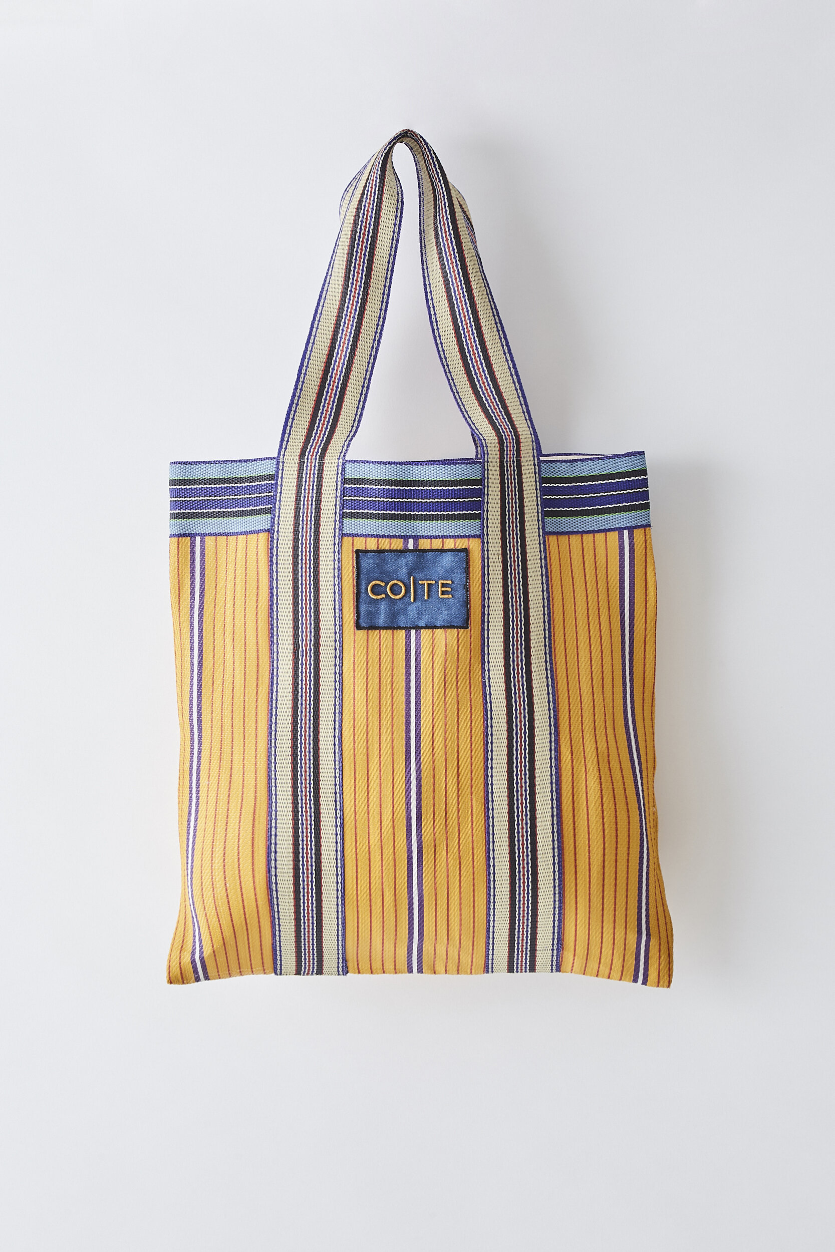 COTE SS2020 Shopping Bag yellow