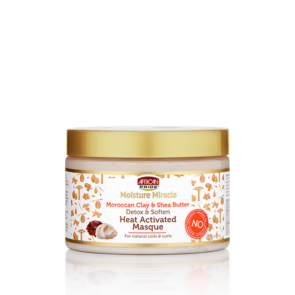 Moroccan Clay & Shea Butter Heat – Activated Masque