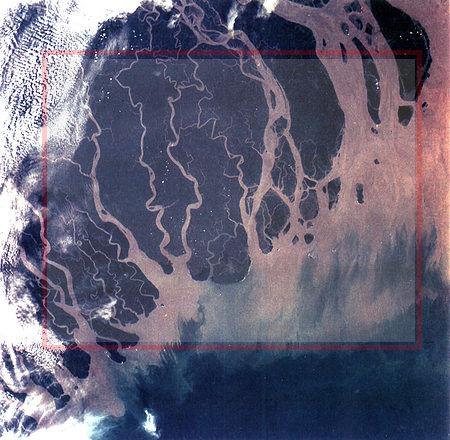 Ganges River Delta, Bangladesh. - source: Wikipedia