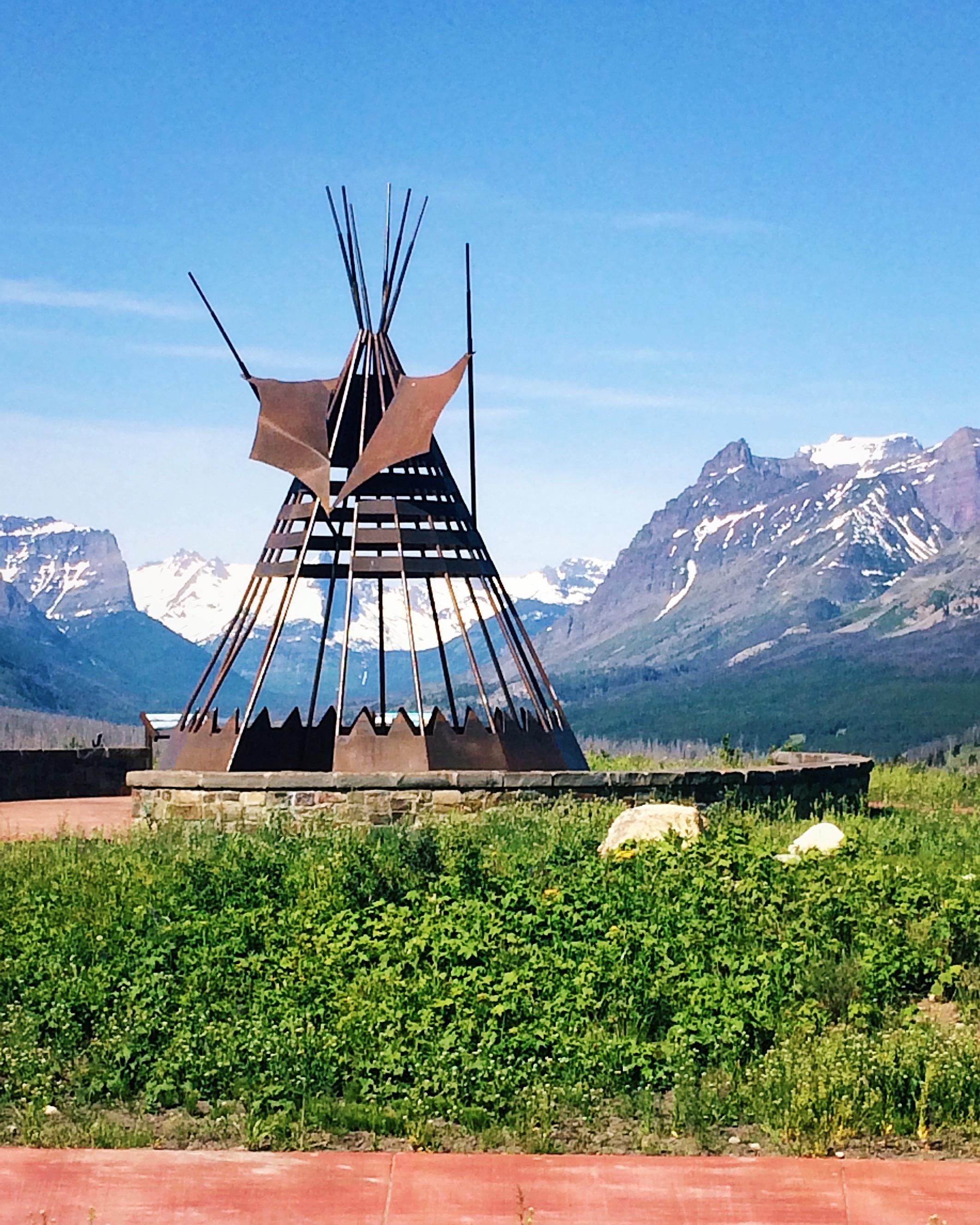 St. Mary Overlook - St. Mary, Montana