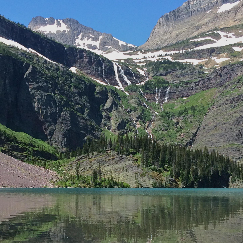 Grinnell Lake - Many Glacier - Glacier National Park