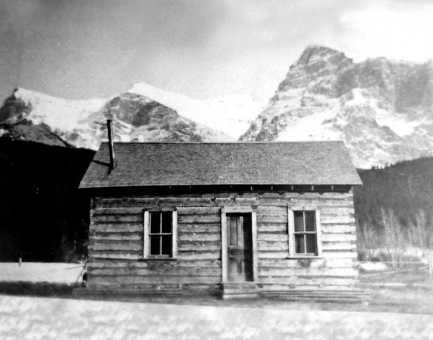 Cosley's original Belly River Ranger Station. Photo Kurt Wilson.