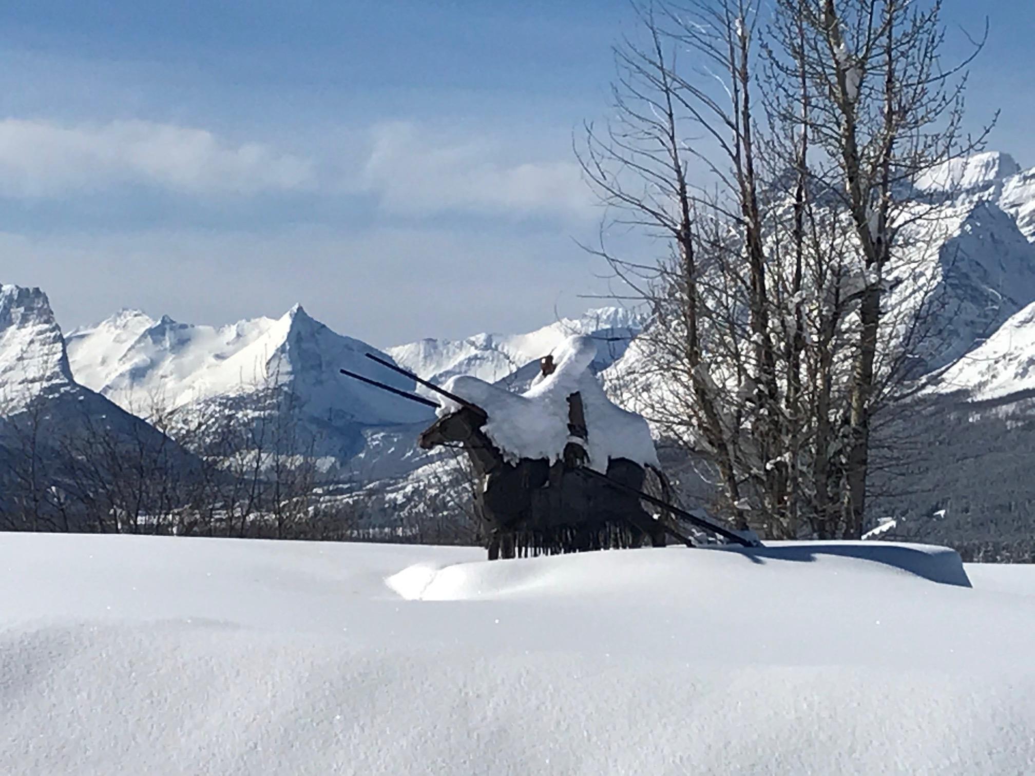 Blackfeet Viewing Spot