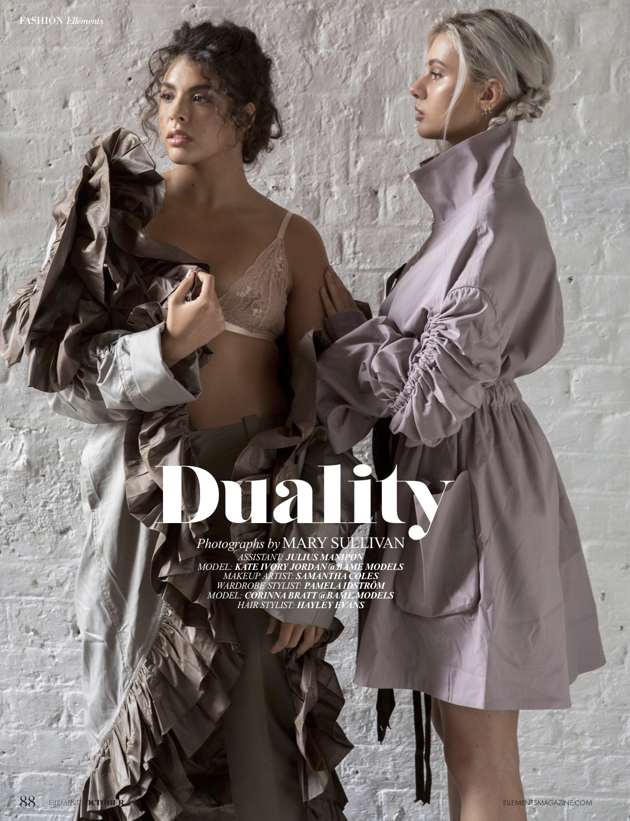 Duality editorial Ellements Magazine